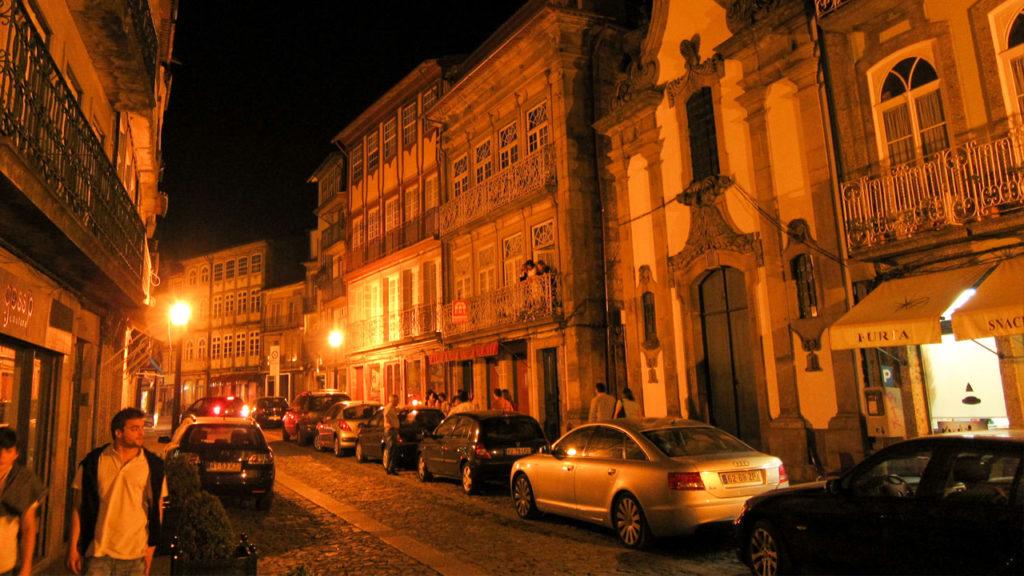rua a noite