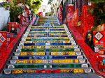 Escadaria Selaron Centro Histórico Rio de Janeiro