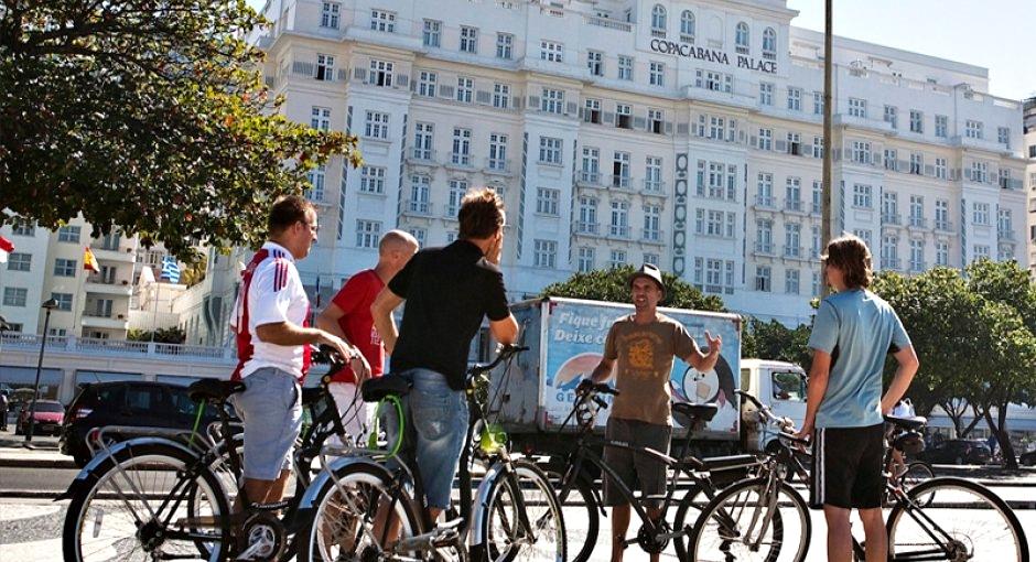 Passeio de Bicicleta Copacabana Palace Rio de Janeiro