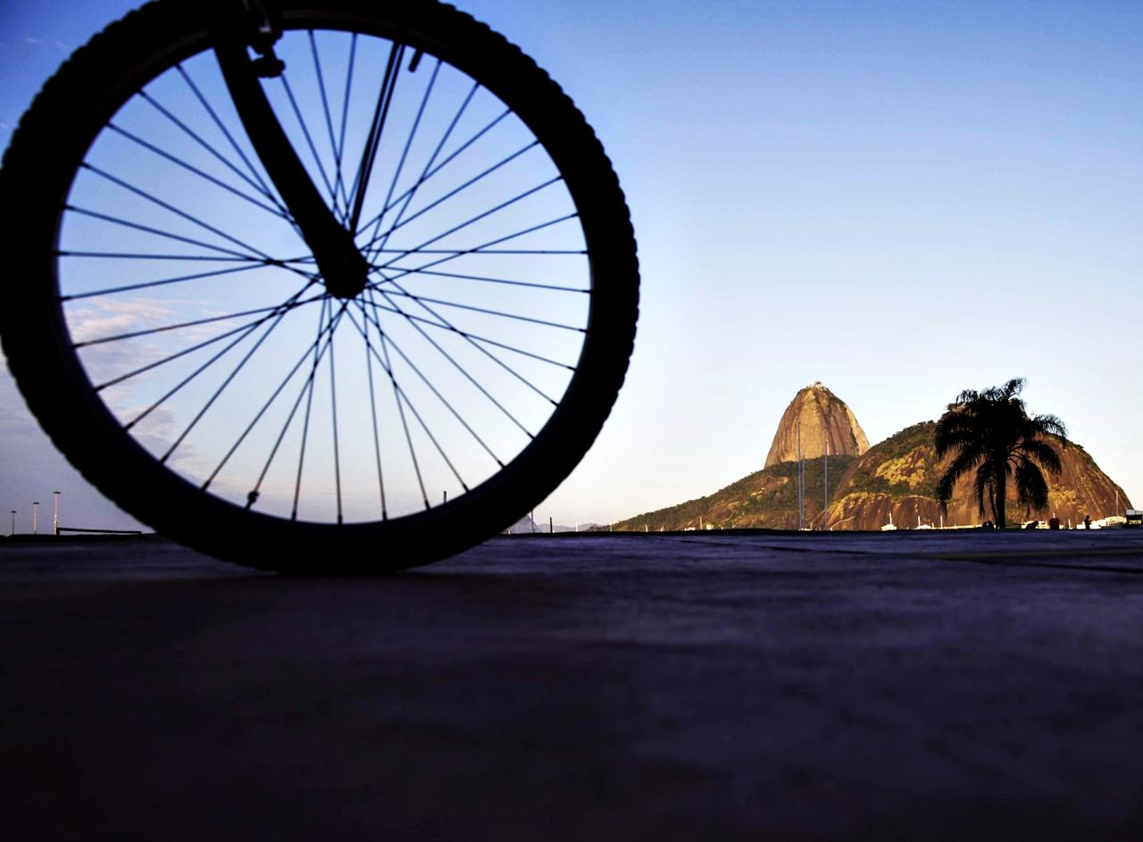 Passeio de Bicicleta Enceada de Botafogo Rio de Janeiro