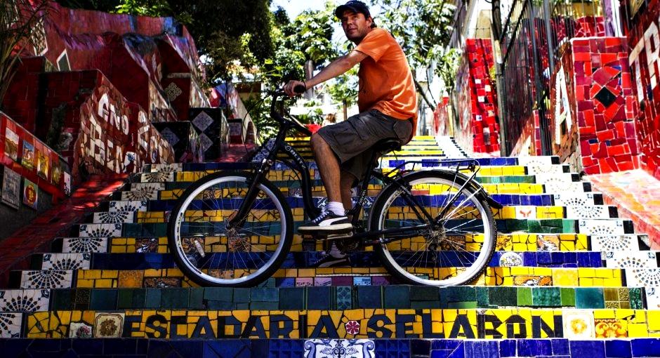 Passeio de Bicicleta Escadaria Selaron Rio de Janeiro