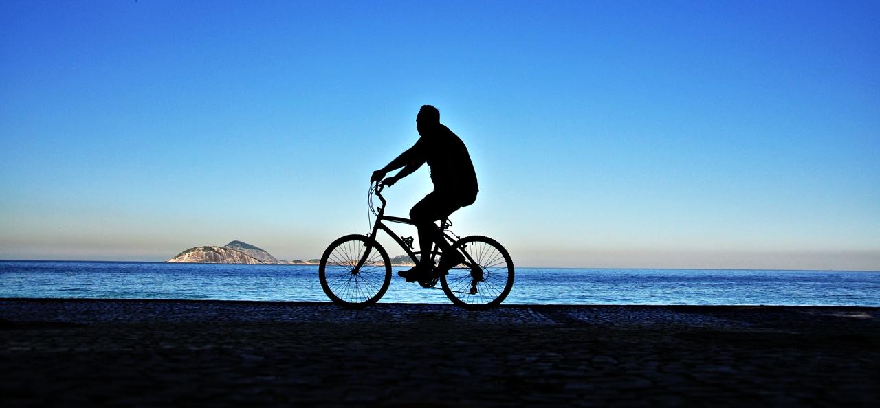ciclistas no Rio Foto: Alexandre Macieira|Riotur