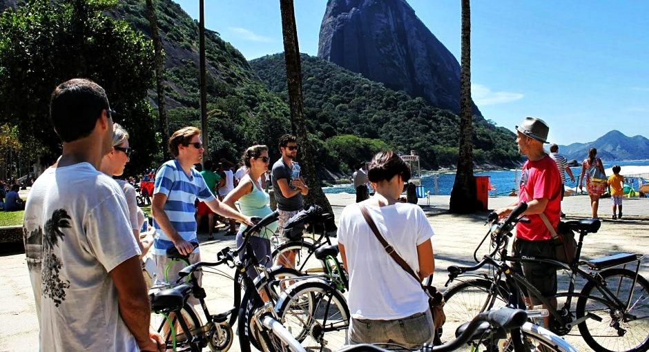 Passeio de Bicicleta Praia Vermelha Rio de Janeiro